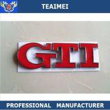 GTI Car ABS cromo 3D letras personalizadas emblema de la insignia de la etiqueta engomada