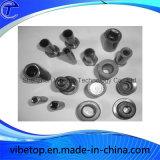 Piezas de acero inoxidable personalizada CNC de mecanizado