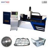 Une grande efficacité 2000W Plaque en acier inoxydable de la faucheuse laser CNC