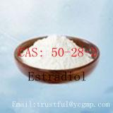 Elevata purezza Estradiol CAS: 50-28-2 per l'ormone di Bodybuilding di Famale