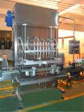 蜂蜜のケチャップのさまざまなソースのための自動2つの4つのヘッド線形充填機
