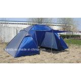 2つの寝室が付いている6人グループのテント1つの居間
