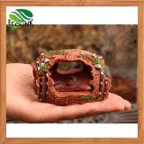 Caverna dell'ornamento della resina del barilotto del serbatoio di pesci dell'acquario di figura della benna di vino che modific il terrenoare decorazione fornente