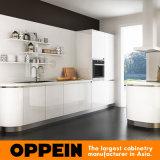 Da galera acrílica branca moderna quente da venda de Oppein cozinha pequena (OP16-A03)