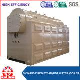 A biomassa da serragem despediu a caldeira empacotada com ventilador de ar