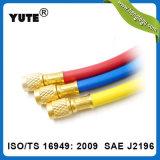Yute R22 R134 una manguera de goma flexible de carga de refrigerante