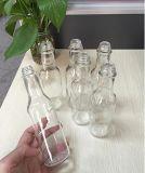 bottiglie di vetro calde della salsa di soia del ketchup di 150ml 5oz con la protezione di plastica, Tamato o la bottiglia della salsa di peperoncino rosso