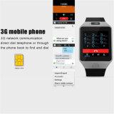 Qw09 인조 인간 4.42 이중 코어 SIM 카드 지능적인 Bluetooth 스포츠 시계