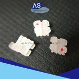 Ortognatodonzia bassa delle scanalature di ceramica delle parentesi