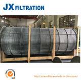 Цилиндр фильтра экрана провода клина нержавеющей стали