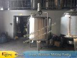 Tanques de aço inoxidáveis com misturador