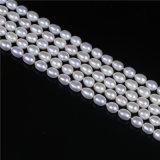 AA 6mmの淡水の真珠の繊維の卸売