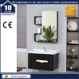 Heißes verkaufendes an der Wand befestigtes festes Holz-Badezimmer-Schrank-Gerät mit Spiegel