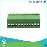 끝 구획 Ma1.5/Vr3.5 (3.81) 케이블 연결관 PCB 마운트 나사 남성