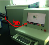 Máquina de varredura de bagagem X Ray para o aeroporto do metrô