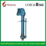 Pompa verticale dei residui allineata gomma