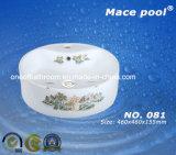 多くのカラー手の洗浄(081)のための円形の芸術の洗面器