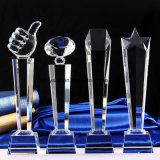 Troféu da concessão do cristal da forma do diamante para lembranças