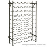 54 Garrafa Pavimentação de metal Armazém de armazenamento Vento Stand Rack
