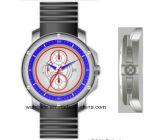 다기능 316의 스테인리스 큰 크기 실리콘 스포츠 남자 시계