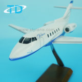 Hawker 800b Resin Private Jet Model