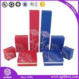 Contenitore di regalo impaccante di carta di legno Handmade di lusso dei monili