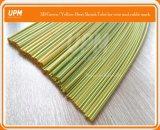 Manicotto termorestringibile giallo di colore messo a nudo Yg di verde per protezione dell'identificazione del cavo