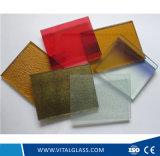 Dekoratives gekopiertes Glas verwendet für Haus-Aufbau