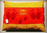 Pata del perro Tejido de punto estera del animal doméstico