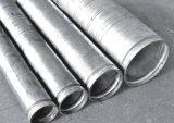 Tubo d'acciaio galvanizzato tuffato caldo (doppia estremità della scanalatura)
