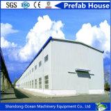 Полуфабрикат здание стальной структуры большой пяди для сарая цыплятины комнаты выставки торгового центра пакгауза мастерской