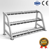 Calidad Promise 3 Tier 15 Pairs Dumbbell Rack Equipo Deportivo