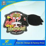 Firmenzeichen-Kleid-Kennsatz-Form Belüftung-Gummiänderung- am objektprogrammabzeichen des Förderung-kundenspezifische Militär-3D für Kleidung (XF-PT04)