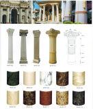 Colunas de mármore naturais de granito Colunas e colunas decorativas interiores