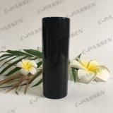 Botella vacía del animal doméstico blanco/negro del envase de plástico para el empaquetado de Skincare (PPC-PB-066)