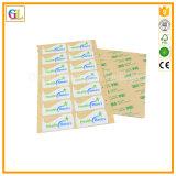 Kundenspezifischer Drucken-Aufkleber in farbenreichem