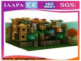 Modèle d'intérieur de cour de jeu de gosses de thème de maison (QL-1111O)