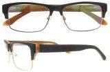Marco óptico al por mayor hecho a mano de las lentes de Eyewear China del acetato