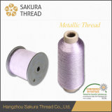 고품질 뜨개질을 하는 피복 자수를 위한 금속 스레드 털실