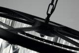 Света кристаллический столба канделябра барабанчика самомоднейшие 3, самомоднейшее домашнее кристаллический приспособление освещения, привесные светлые канделябры освещая для столовой, фойе
