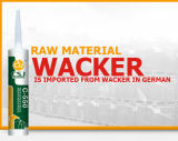 Puate d'étanchéité neutre imperméable à l'eau de silicones de qualité supérieur pour l'aluminium