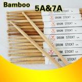 Precios baratos palos de tambor de madera de bambú sólido para la venta