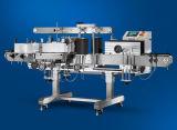 De halfautomatische Volledige Pneumatische Vlakke Machine van de Etikettering van de Sticker van de Fles Automactic