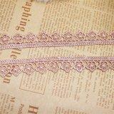 工場ホーム織物及びカーテンのための標準的な衣服の卸売1.5cmの幅の刺繍のレースポリエステル刺繍のトリミングの空想のレースの化学ファブリック