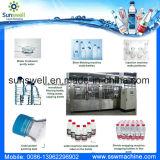Fábrica da água de engarrafamento