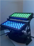 120X10W RGBWA 4 UV dans 1 rondelle de mur de couleur de ville