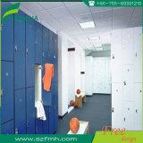 HPL glatter Oberflächenende-Speicher-Schließfach-Schrank wasserdicht