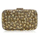 새로운 Deisgn 여자 클러치 이브닝 백 호화스러운 핸드백 구슬로 만드는 모조 다이아몬드 당은 Eb874를 Purses