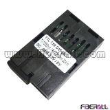 Transmissor de Fibra Óptica TTL 1X9 de 84Mbps Single Fiber Bi-Di 20km