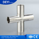 AISI304 고품질 긴 유형 십자가 관 이음쇠